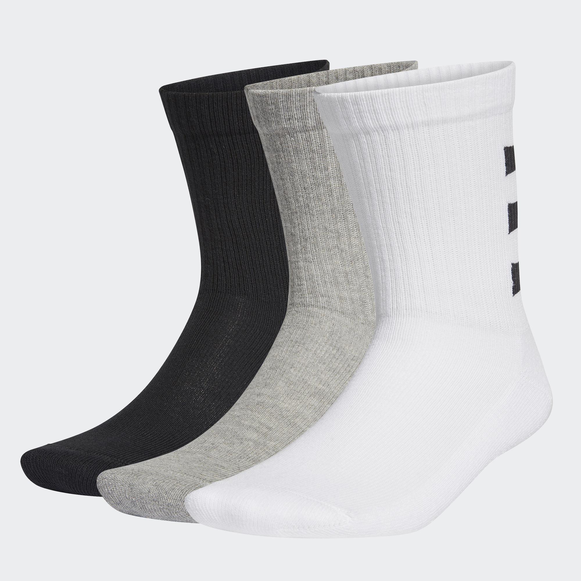 3-Stripes 中筒襪 3 雙入