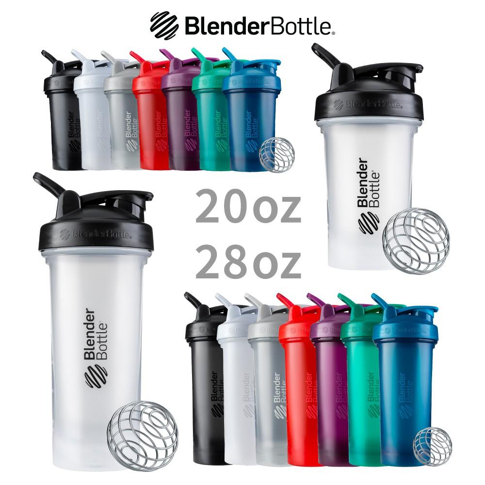 【美國 Blender Bottle】Classic V2 經典搖搖杯 20oz / 28oz 宙斯健身網