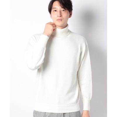 【ベーセーストック】 タートルネックP/O メンズ ホワイトA L B.C STOCK