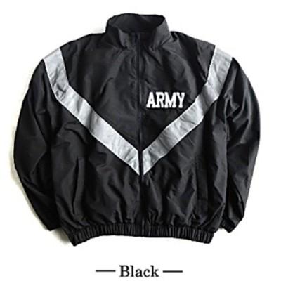 US ARMY IPFU 防風撥水加工大型リフレクタージャケットレプリカ ブラック S