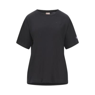チャンピオン CHAMPION T シャツ ブラック XS コットン 100% T シャツ