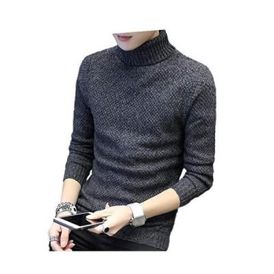 ベンケ BEN85 BKXL セーター メンズ タートルネック 無地 カジュアル 長袖 ニット ケーブル編み 秋服 大きいサイズ おしゃれ