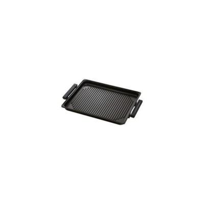 Panasonic 専用焼肉プレート KZ-AY10-K [100V IHホットプレート専用] IH調理器用あっせん鍋 パナソニック