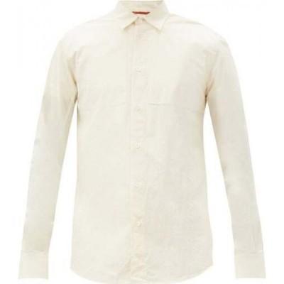 バレナ Barena Venezia メンズ シャツ トップス Scarpion cotton shirt Cream