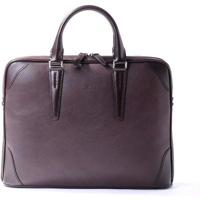 [フジタカ] レザービジネスバッグ A4ジャスト ジェードレザーII No.616501 チョコ
