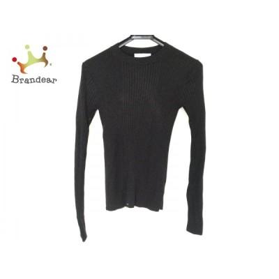 セルフォード CELFORD 長袖セーター サイズ38 M レディース 黒 ラメ 新着 20210121