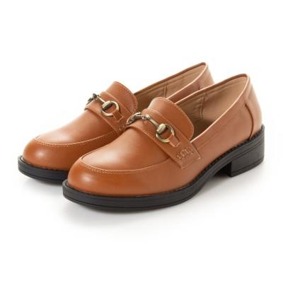 SFW サンエープラスフェミニン AAA+ feminine AAA+ feminine おじ靴'マニッシュビットローファー/3572 (キャメル)