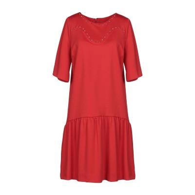 シネクァノン SINÉQUANONE ミニワンピース&ドレス レッド 3 ポリエステル 100% ミニワンピース&ドレス