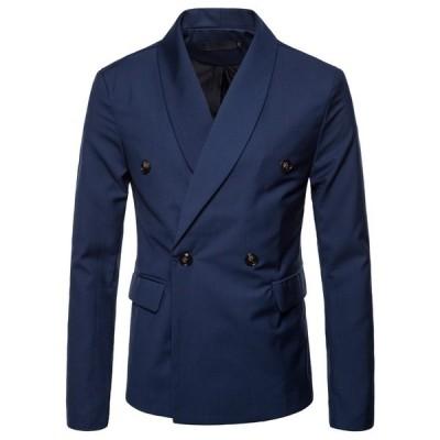 4色  メンズテーラードジャケット ブレザー カジュアルスーツ  ビジネススーツ ジャケット コート お洒落