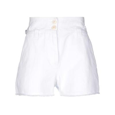 ジバンシィ GIVENCHY デニムショートパンツ ホワイト 38 コットン 100% デニムショートパンツ