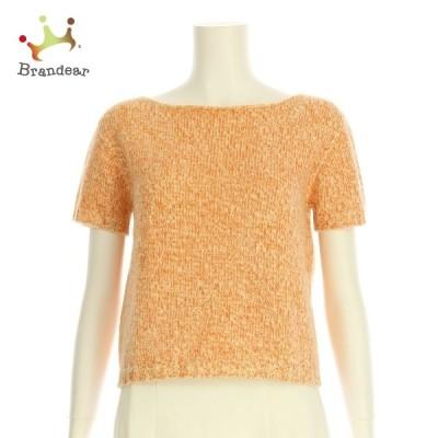 マックスマーラ 半袖セーター サイズS レディース オレンジ系 ニット・セーター ウール100% 新着 20210217