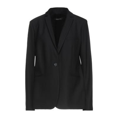 トゥルーニューヨーク TRUE NYC® テーラードジャケット ブラック 46 ポリエステル 53% / バージンウール 47% テーラードジャケット
