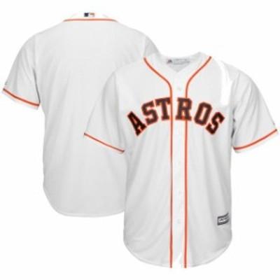 Majestic マジェスティック スポーツ用品  Majestic Houston Astros White Big & Tall Home Cool Base Team Jersey