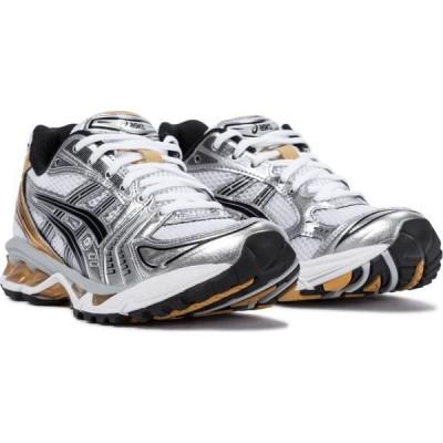 アシックス Asics レディース スニーカー シューズ・靴 ub1-s gel-kayano 14 sneakers White/Pure Gold