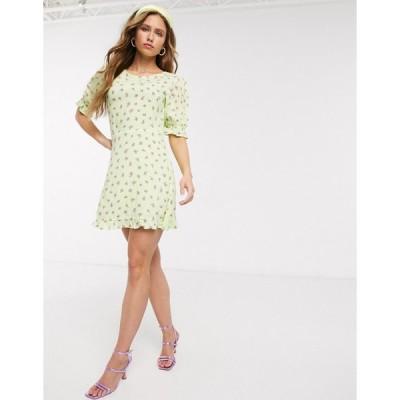 フェイスフル ミニドレス レディース Faithfull The Brand florence floral mini dress エイソス ASOS