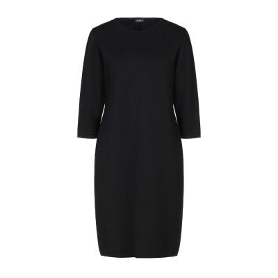 NEERA 20.52 ミニワンピース&ドレス ブラック 46 ウール 100% ミニワンピース&ドレス