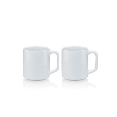 BODUM ボダム BL? ブラー コーヒーマグ 350 ml (2個 セット)ホワイト 正規品 K12000-83