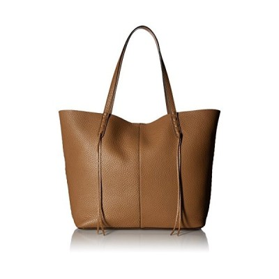 Rebecca Minkoff Medium Unlined トート with Whipstich, Almond(海外取寄せ品)