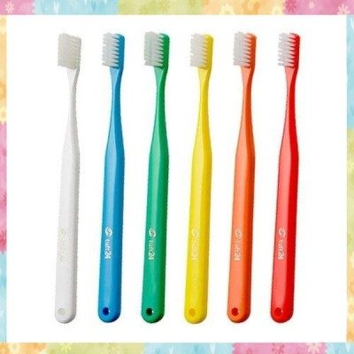 キャップなし タフト24 歯ブラシ * 10本 (MS)