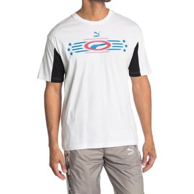 プーマ メンズ シャツ トップス Retro '90s Graphic Logo T-Shirt WHITE