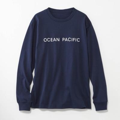 1枚でおしゃれ見せ♪バックプリント長袖Tシャツ(オーシャンパシフィック/OCEAN PACIFIC)