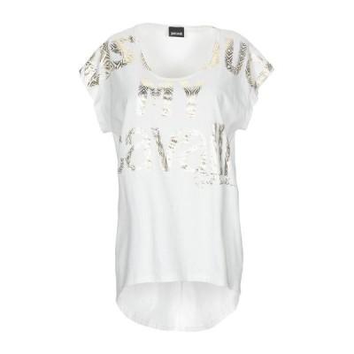 JUST CAVALLI Tシャツ  レディースファッション  トップス  Tシャツ、カットソー  半袖 ホワイト