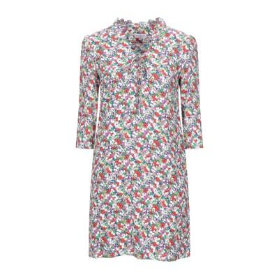 CLAUDIE PIERLOT ミニワンピース&ドレス ホワイト 36 レーヨン 100% ミニワンピース&ドレス