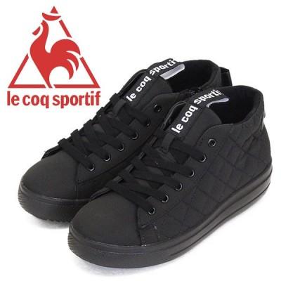 le coq sportif (ルコック スポルティフ) QL3QJD85BK テルナ BB アンクルミッド QS レディース ウィンターブーツ ブラック LE017