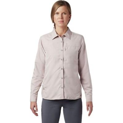 マウンテンハードウェア Mountain Hardwear レディース ブラウス・シャツ トップス Canyon Long-Sleeve Shirt Smoky Quartz
