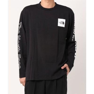 tシャツ Tシャツ ノースフェイス ロングスリーブスリーブグラフィックTシャツ NT32042