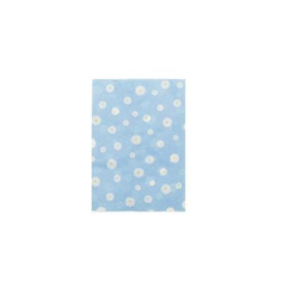 ヘイコー 紙袋 柄小袋 ベロなし 18才 プリエール ブルー 11.5x16cm 200枚