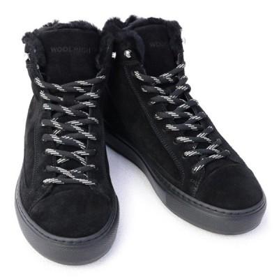 ウールリッチ WOOLRICH 靴 レディース ハイカット スニーカー ブラック (WFW192070 NERO 3140) 2019年秋冬