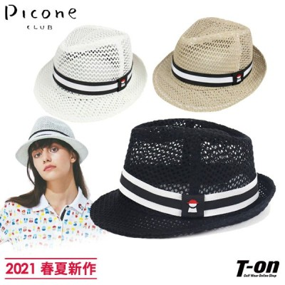 ハット レディース ピッコーネクラブ PICONE CLUB 2021 春夏 新作 ゴルフ c0504172