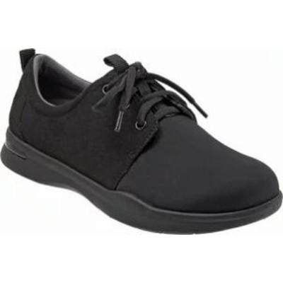 SoftWalk レディーススニーカー SoftWalk Relax Sneaker Black Sport Lycra/Mi
