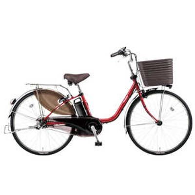 パナソニック Panasonic 24型 電動アシスト自転車 VIVI・DX(フレアレッド/内装3段変速)BE-ELD436R【2020年モデル】 フレアレッドパール フレアレッド BE_ELD436R
