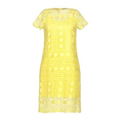 リュー ジョー LIU •JO ミニワンピース&ドレス イエロー 40 ポリエステル 100% ミニワンピース&ドレス