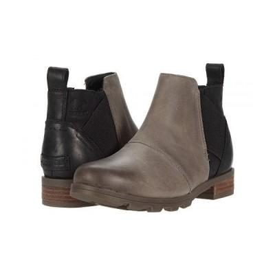 SOREL ソレル レディース 女性用 シューズ 靴 ブーツ チェルシーブーツ アンクル Emelie Chelsea - Quarry