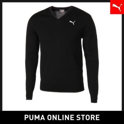 『4/18 全品15倍 最大45倍』プーマ メンズ ゴルフ トップス PUMA ゴルフ Vネック セーター