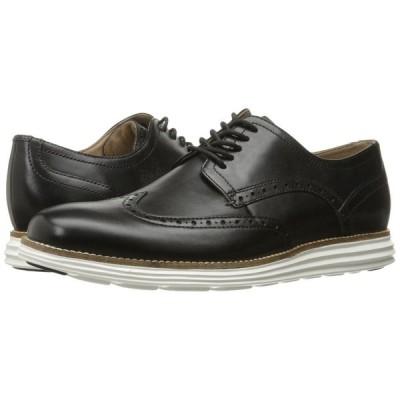 コールハーン Cole Haan メンズ 革靴・ビジネスシューズ シューズ・靴 Original Grand Shortwing Black Leather/White