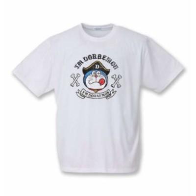 大きいサイズ メンズ I'm Doraemon 半袖 Tシャツ ホワイト 1278-0288-1 3L 4L 5L 6L 8L