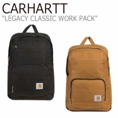 カーハート リュック CARHARTT LEGACY CLASSIC WORK PACK レガシー クラシック ワークパック BLACK BROWN 19032501/2 バッグ
