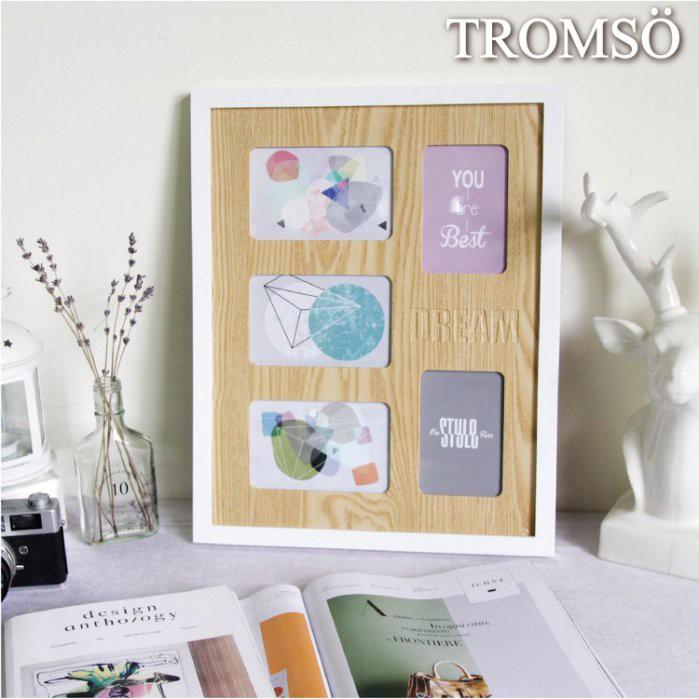 現貨 TROMSO繽紛北歐木紋大相框5框款/4x6 3.5x5北歐風 簡約 搬家喬遷禮物臥室房間 【H0305176】