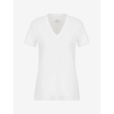 tシャツ Tシャツ 【A X アルマーニ エクスチェンジ】バックA Xロゴ Vネック半袖Tシャツ/REGULAR