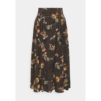 ヤス レディース スカート ボトムス YASMARTA LONG SKIRT - A-line skirt - black black