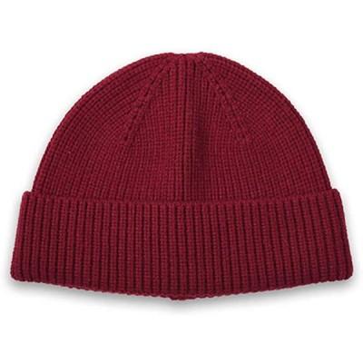 ニット帽 帽子 メンズ ニットキャップ イスラム帽子 冬帽子 メンズ ワッチ キャップ メンズ 防寒帽子 男女兼用 レッド