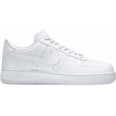 ナイキ メンズ スニーカー シューズ Nike Men's Air Force 1 '07 Shoes White
