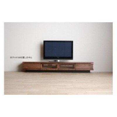 AL321【開梱・設置】テレビボード ジオ テレビ240cm ブラウン