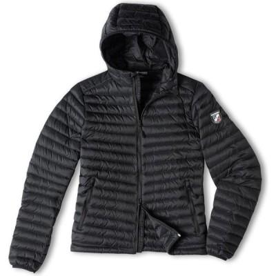 シャモニー Chamonix レディース ダウン・中綿ジャケット フード アウター Cailly Hooded Down Jacket black