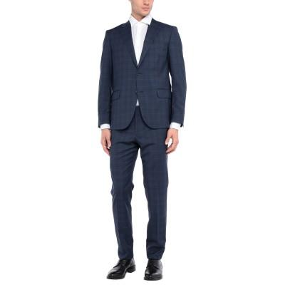 NINO DANIELI スーツ ダークブルー 52 バージンウール 100% スーツ