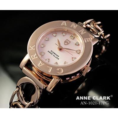 ANNE CLARK アンクラーク レディス腕時計 ブレスレットタイプ シェルダイヤル 天然ダイヤ カラーストーン AT1008-09 ギフト プレゼント